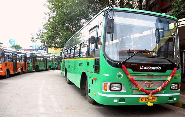 Tata Bengaluru Marcopolo Buses